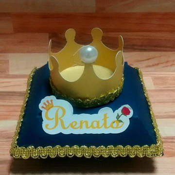 Caixa coroa Pequeno Príncipe