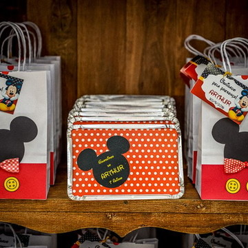 c018f07d8 Sacola Personalizada Mickey Mouse | Elo7