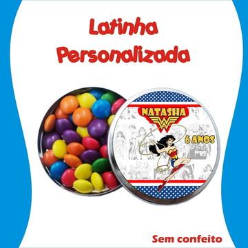Latinha Mulher Maravilha