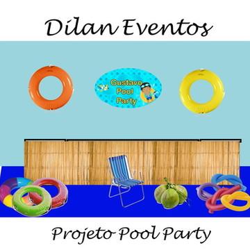 Locação decoração de festa Pool Party