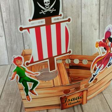 Tubete Navio Pirata Peter Pan