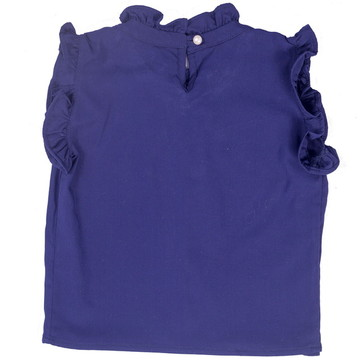 Blusinha Azul - Adulto