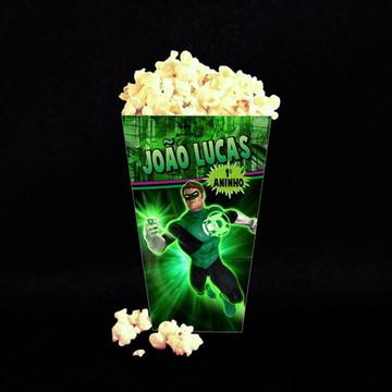 Caixa de Pipoca Lanterna Verde