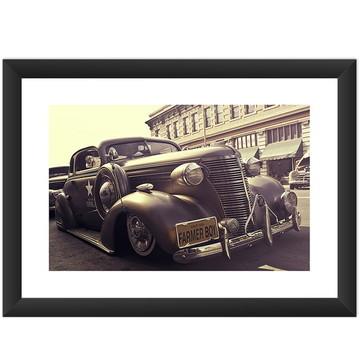 Quadro Carro Antigo Cult Retro Vintage