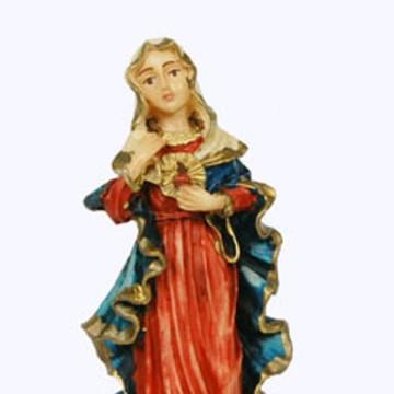 Imagem Sagrado Coração de Maria 15cm