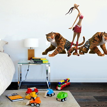 Adesivo Decorativo Infantil Zootopia