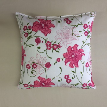 Almofada Estampada Rosa