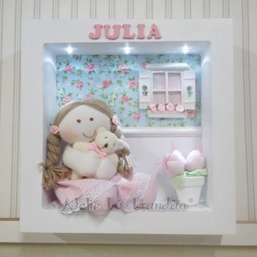Enfeite de porta maternidade Julia