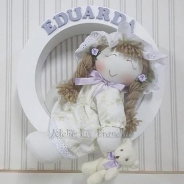 Enfeite de Porta Maternidade Sonequinha