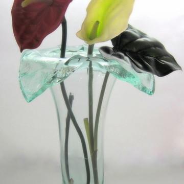 DECORAÇÃO / Vaso de Vidro Exclusivo PEÇA ÚNICA