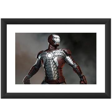 Quadro Filme Iron Man Hq Cinema Marvel