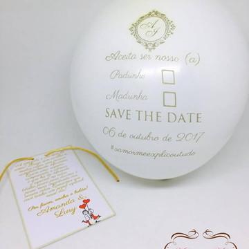 Convite Bexiga Casamento
