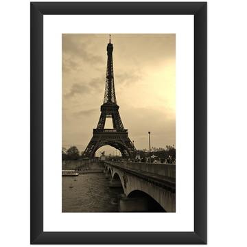 Quadro Torre Eiffel Retro Decoracao Sala