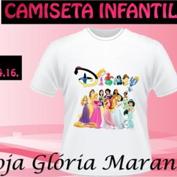 CAMISETA PRINCESA DISNEY C/1