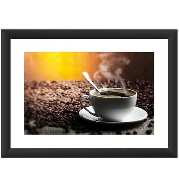Quadro Xicara De Café Cozinha Decoracao