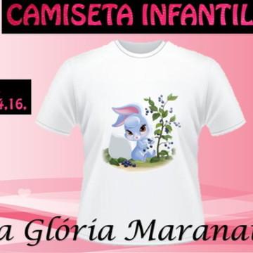 CAMISETA PRINCESA DISNEY COELHO C/1