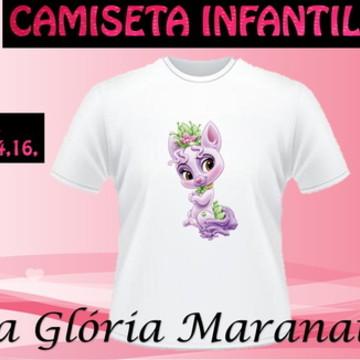 CAMISETA PRINCESA DISNEY CACHORRO C/1