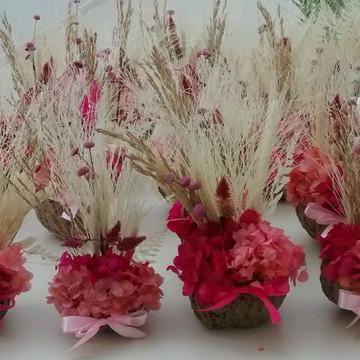 cumbuca de flores secas pink & tiffany