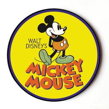 Quadro Redondo Mickey Vintage