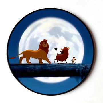 Quadro Redondo Rei Leão