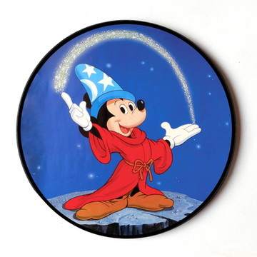 Quadro Redondo Mickey Fantasia