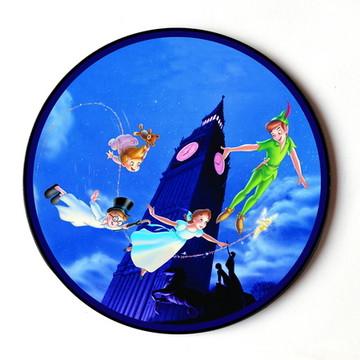Quadro Redondo Peter Pan
