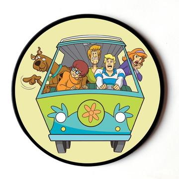 Quadro redondo Scooby Doo