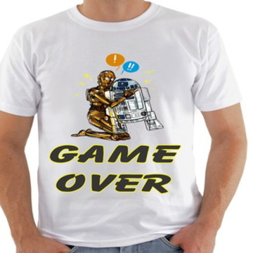 camiseta game over Star Wars