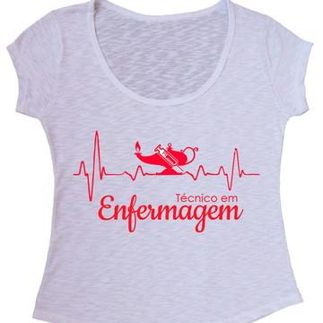 Blusa T-shirt Técnico Enfermagem