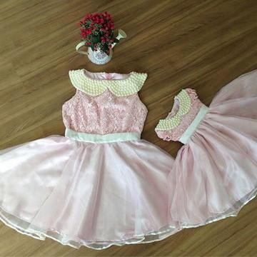 Vestido para Festa Social - Mãe e Filha
