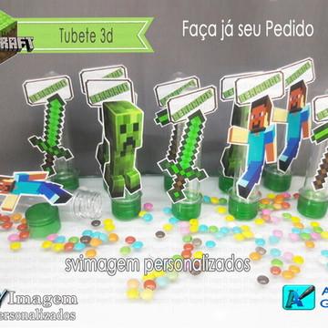Tubete 3d Minecraft