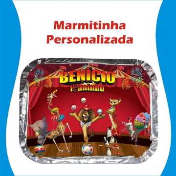 Marmitinha Madagascar Circo