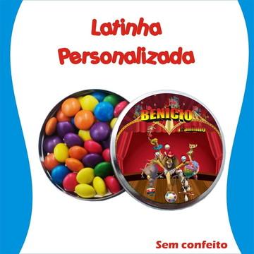 Latinha Madagascar Circo