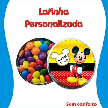 Latinha Mickey
