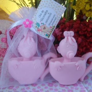 Sachê Sabonete Chá de Bebê (Menina)
