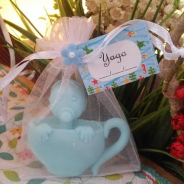 Sachê Sabonete Chá de Bebê (Menino)