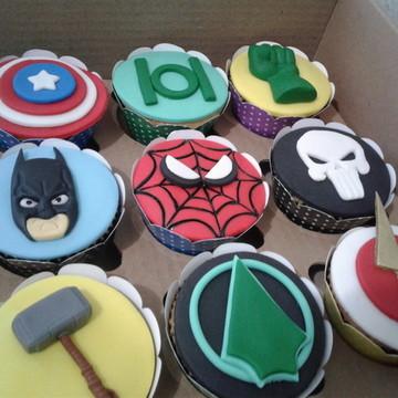 Cupcakes - Super Heróis