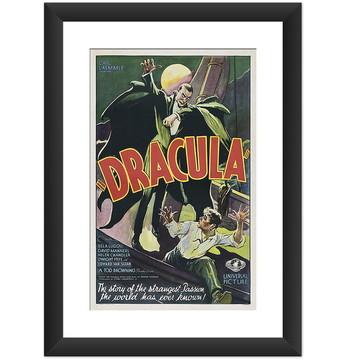 Quadro Filme Dracula Bella Logosi Retro