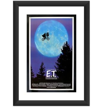 Quadro Filme ET Extraterrestre Cinema 80