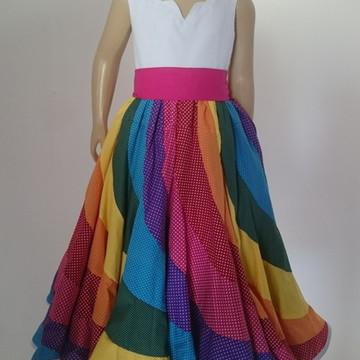 Vestido Menina Jujulete
