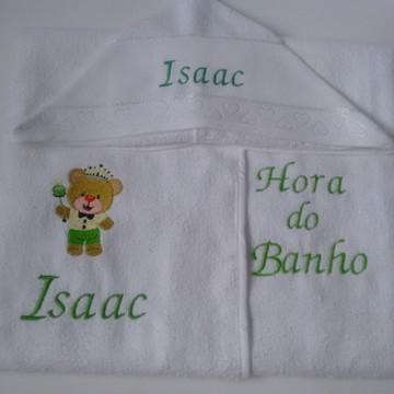 toalha de bebe com capuz