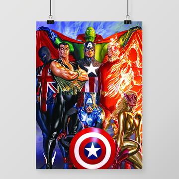 Pôster Marvel