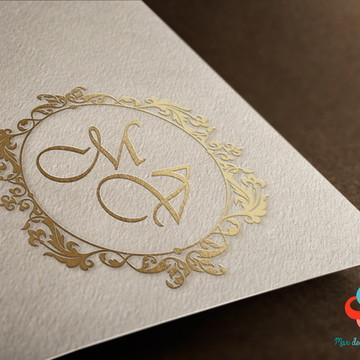 Monograma digital - Casamento