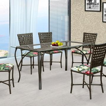Conjunto Sala de Jantar Mesa +6 Cadeiras