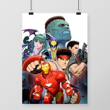 Quadro Marvel vs Capcom