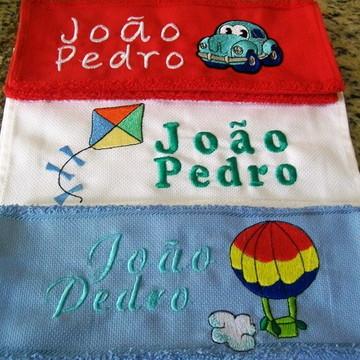 Kit toalha escolar - 3 peças Menino