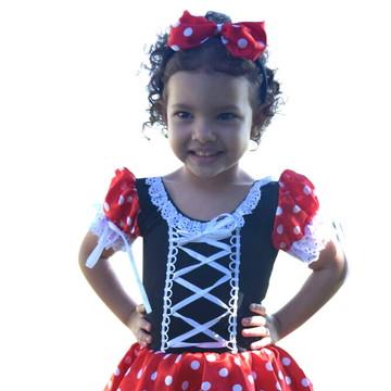 Fantasia Minnie Infantil
