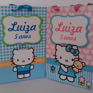 Sacolinha Hello Kitty - média