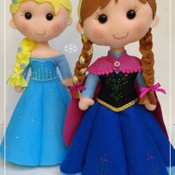 Ana e Elsa - Frozen