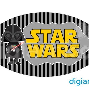 Placa para Decoração - Darth Vader